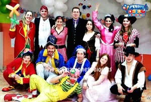 best children's party entertainers in Madrid